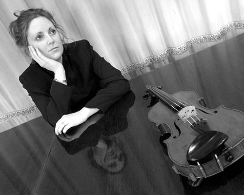 Rosewood String Quartet players, Sarah Wormell, Violinist