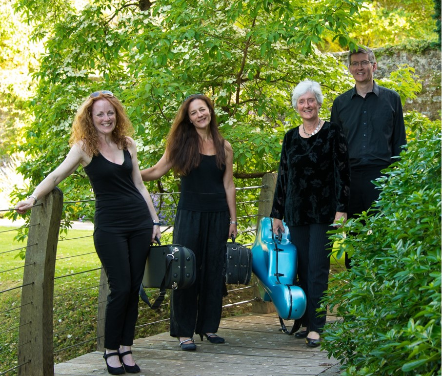 Rosewood String Quartet for South West UK weddings and events